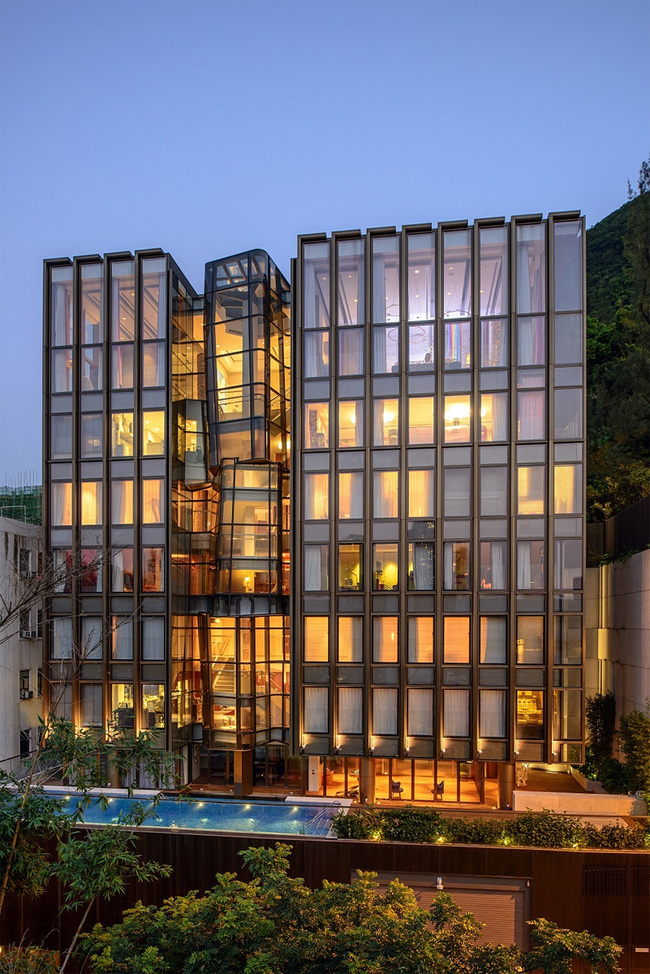 THR350 private residence in Hong Kong by Aedas