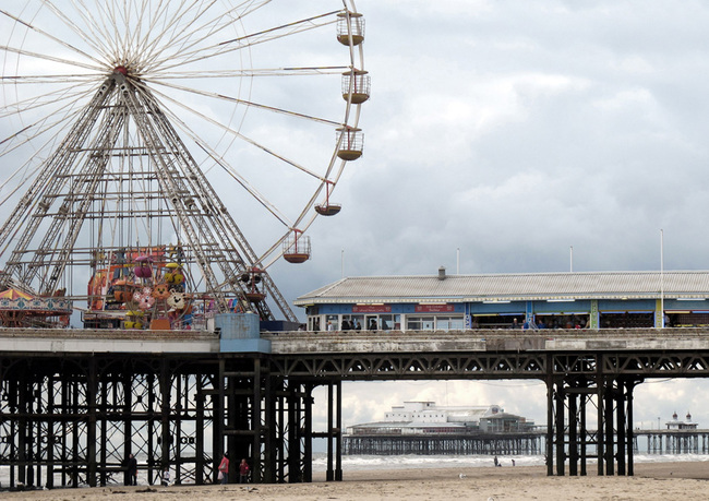 Runner-up in the Architecture and Place category: Uwe Schmidt-Hess - Blackpool Central Pier