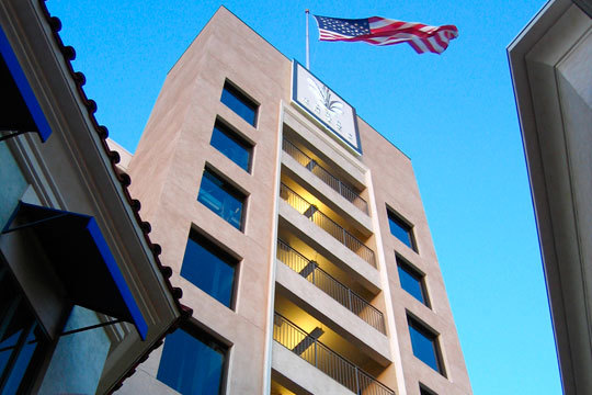 Parking structure at The Grove in L.A. Photo via thegrovela.com
