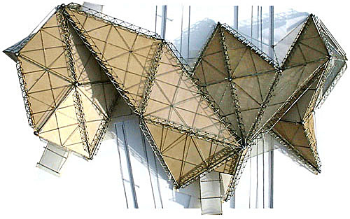 triangular truss to truss connection detail via rastafar