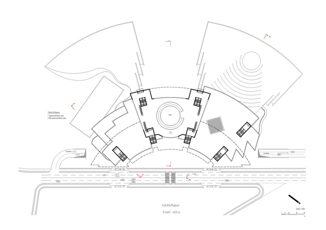 Plan, level 8 (Image: Architecton)