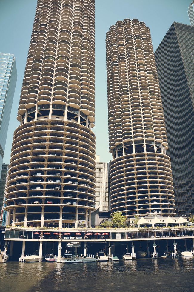 Marina City, image via Jeffrey Zeldman/flickr.
