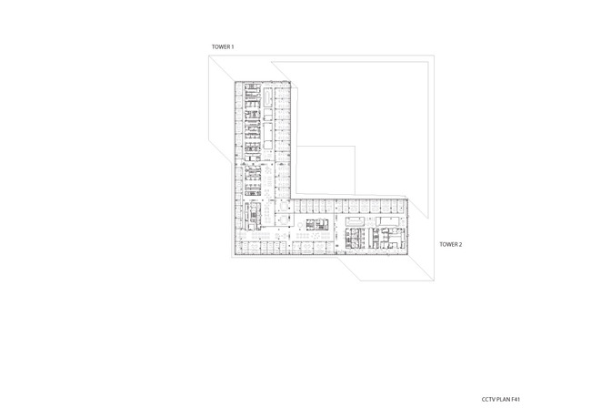 CCTV/OMA - Plan F41, Image courtesy of OMA