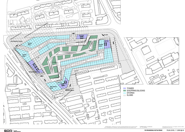 Floor plan L1 (Image: SDA)