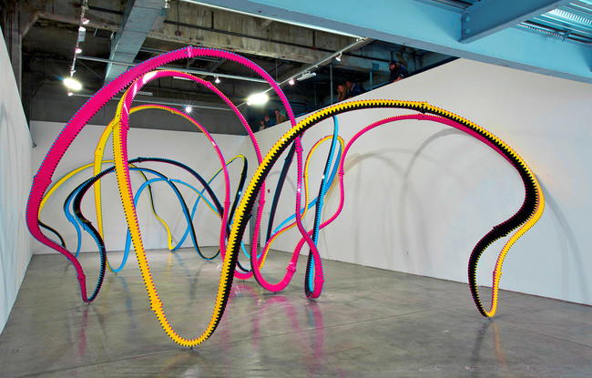 Go Figure by Ramiro Diaz-Granados/Amorphis at SCI-Arc Gallery (Photo: Ramiro Diaz-Granados)