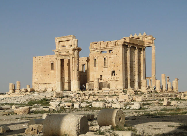 Activists say that Islamic State militants have at least partially destroyed the ancient Temple of Bel, dedicated in 32 CE and considered an essential part of the historic city of Palmyra, Syria. (Photo: Bernard Gagnon/Wikimedia Commons)