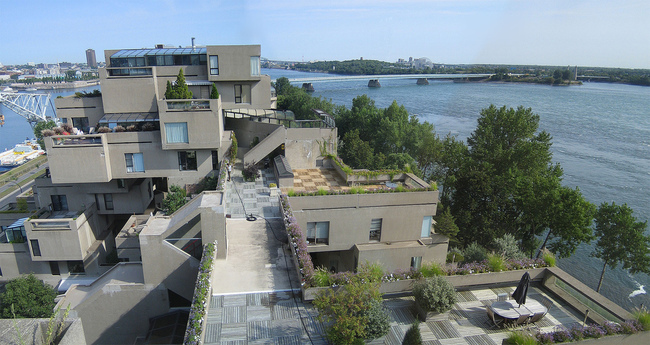 Habitat 67 via WikiMedia Commons
