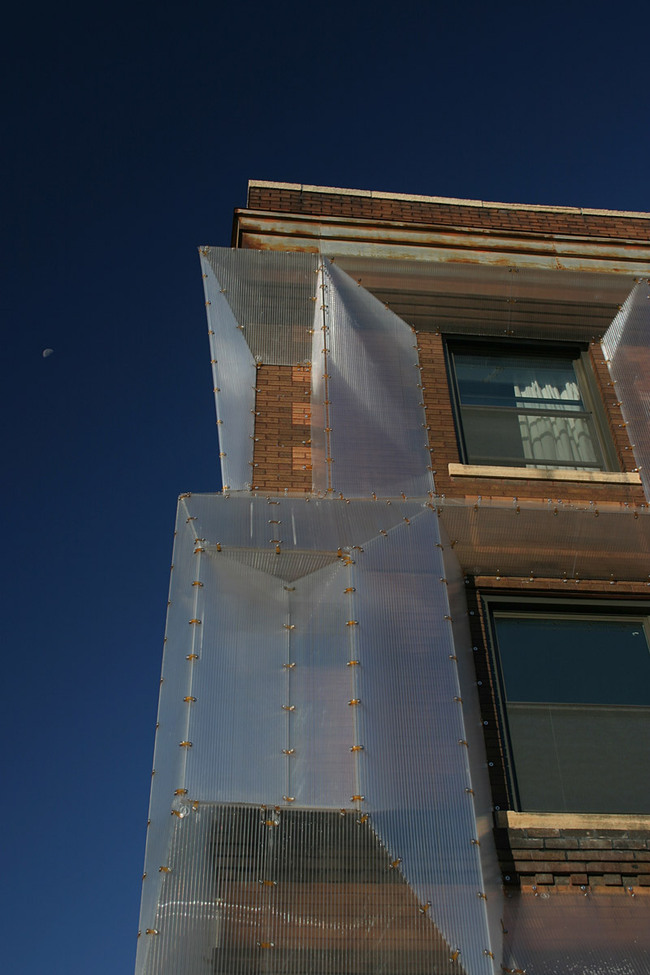 SPECS Optical Façade; Minneapolis, MN by Alchemy Architects (Photo: Geoffrey Warner and Scott Ervin)