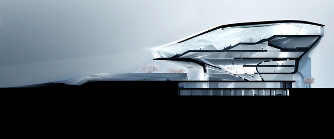 Museum section (Image: Patrick Tighe Architecture)