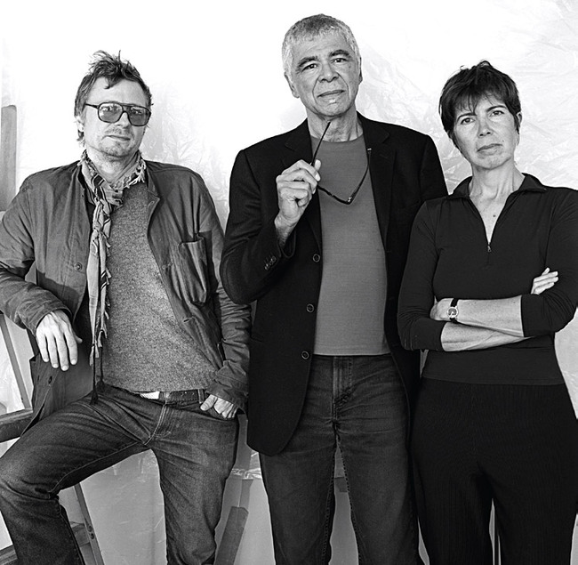 Recipient of the 2012 Lawrence Israel Prize: NY firm Diller Scofidio + Renfro (pictured from left to right, the DS+R partners Charles Renfro, Ricardo Scofidio and Elizabeth Diller, Photo: Abelardo Morell)