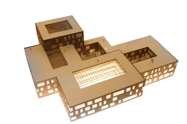 Model (Image: Henning Larsen Architects)