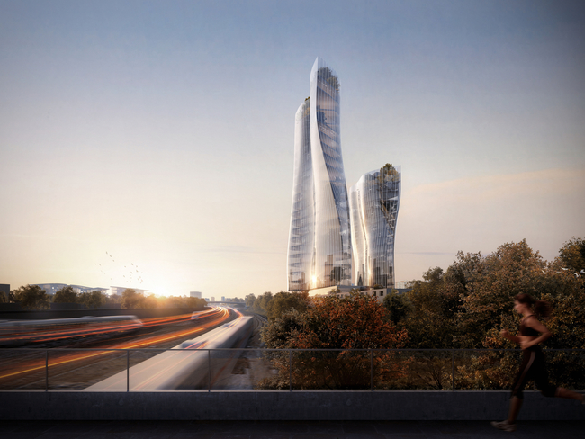 Scali Milano Scalo Farini Future Skyline. Image: MAD