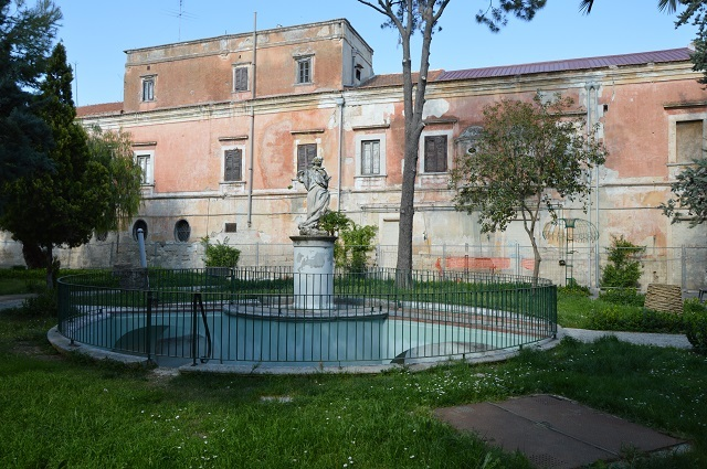A villa and former summer residence along Via Francigena, one of the sites up for grabs. Photo: Agenzia del Demanio, via The Local.