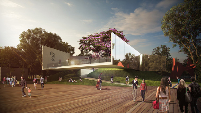 """Floating Art Platform"" by VPANG architects + JET Architecture + Lisa Cheung. Image courtesy of VPANG architects."