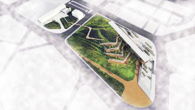Ostim Eco-Park proposal by ONZ Architects. Image Courtesy of ONZ Architects.