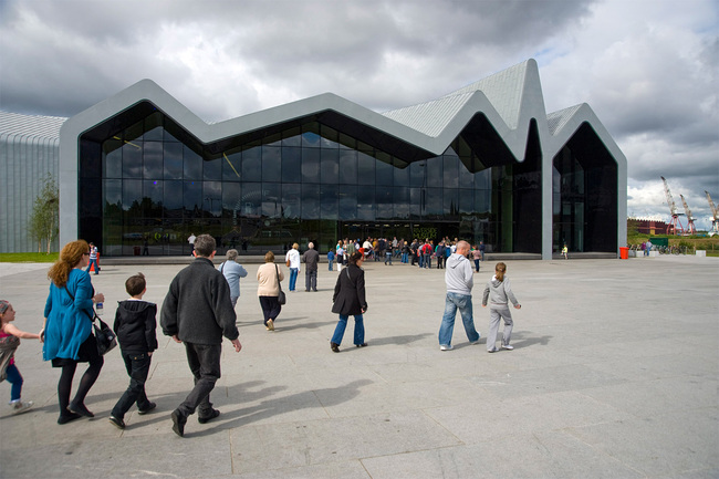 Winner of the European Museum of the Year Award 2013: Riverside Museum: Scotland's Museum of Transport in Glasgow, UK