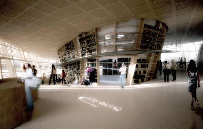 View of library (Image: Djuric Tardio - Scriptogram.com)