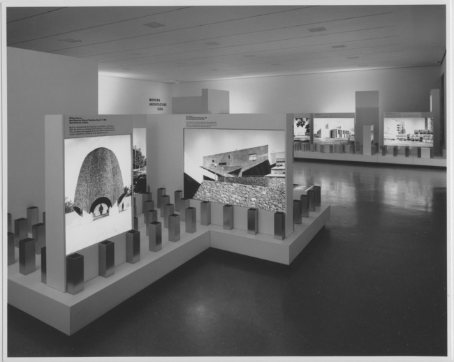 From the MoMA archive: Modern Architecture, U.S.A. May 18–September 6, 1965