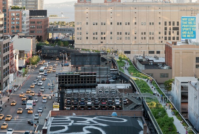 Field Operations is probably best known for their work with the vastly-popular High Line in Manhattan. Credit: Field Operations