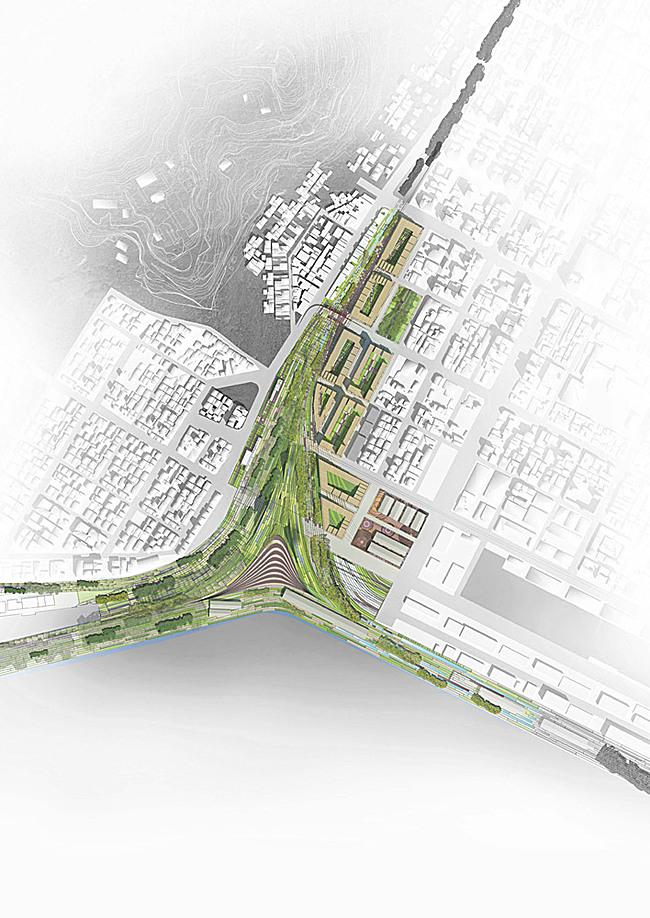 Top view (Image: De Architekten Cie.)
