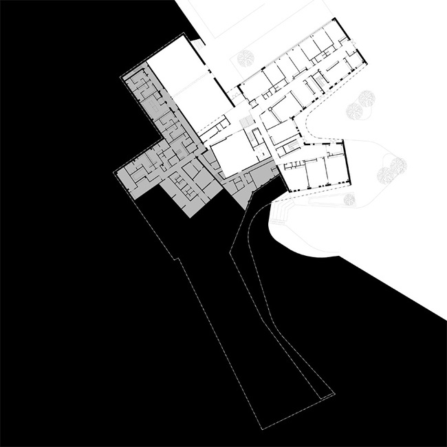 Plan ground floor (Image courtesy of Verstas Architects)
