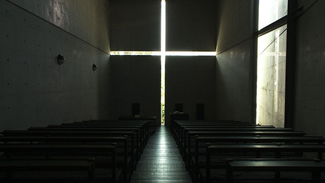 Tadao Ando's Church of the Light. Ando's design process will be featured in