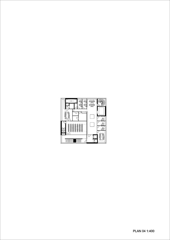 Floor plan 04 (Illustration: Henning Larsen Architects)