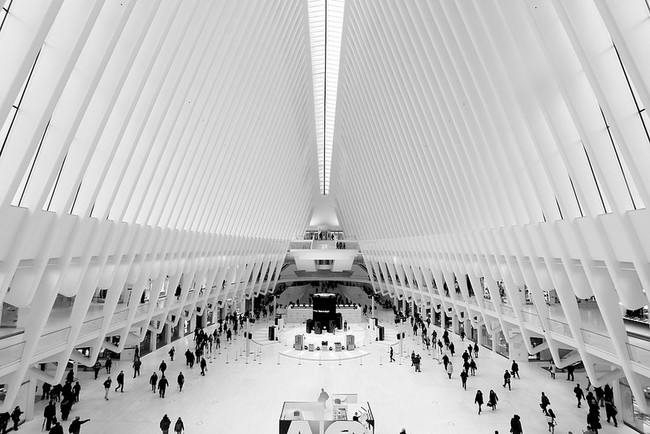 Oculus, World Trade Center, NYC. Photo: Joe Hunt/Flickr.