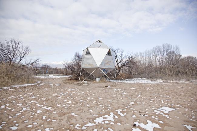"Ostalgia Issyk Kul Lake, Kyrgyzstan ""Sputnik"" Bosteri Beach Resort 2010 ©Simona Rota"