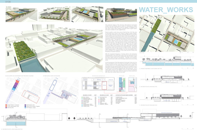 Winning project in the category Urban Ecology: Water_Works by Studio TJOA: Audrey Worden, Alex Worden; Brooklyn, New York
