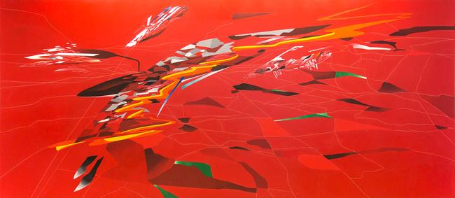 'Metropolis', 1988; © Zaha Hadid Foundation.