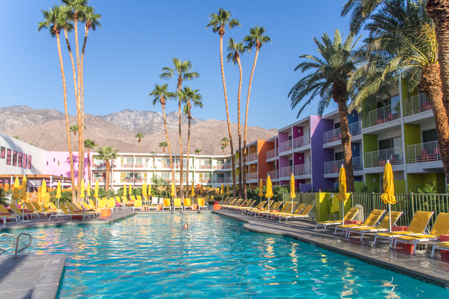 The Saguaro Hotel in Palm Springs, California, 2012. Photo: Mathieu Lebreton/Flickr.