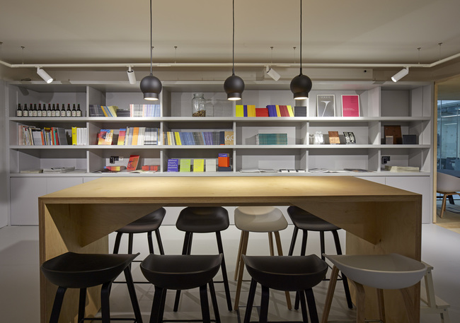 Monotype HQ London by Ben Adams Architecture. Photo: Edmund Sumner.