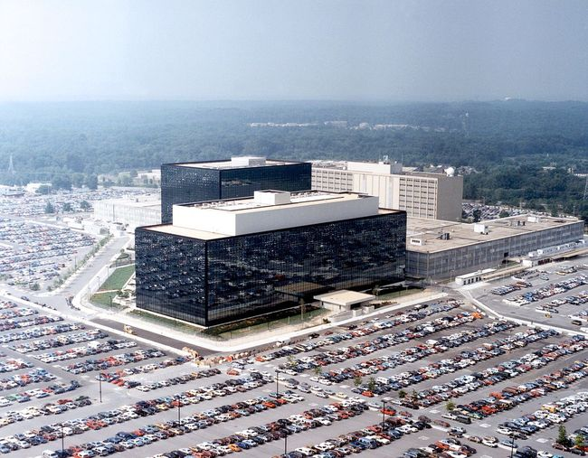 The NSA headquarters in Fort Meade, Maryland. Image via wikimedia.org