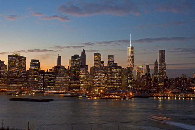 Evening from Brooklyn