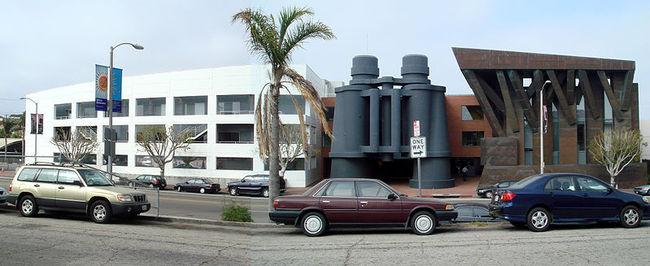Frank Gehry-designed Binoculars Building via Wikimedia