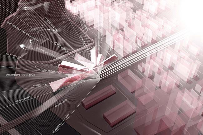 Concept, Prism of Art (Image: H Architecture & Haeahn Architecture)