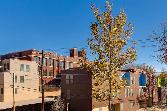 Rear exterior of Bancroft School project. Photo credit Chad Jackson Photography.