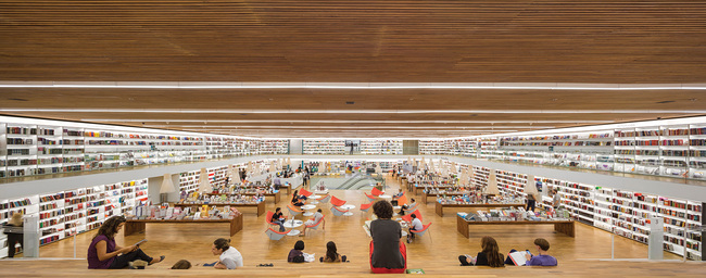 CATEGORY WINNER, Retail - Cultura Bookstore in Sao Paulo by studio mk27