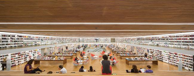 CATEGORY WINNER, Retail - Cultura Bookstore in Sao Paulo by studio mk27