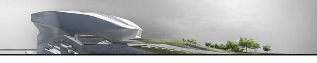Left elevation (Image: Patrick Tighe Architecture)