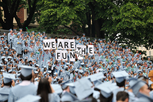 Columbia University 2012 Commencement (photo by llee_wu via flickr)