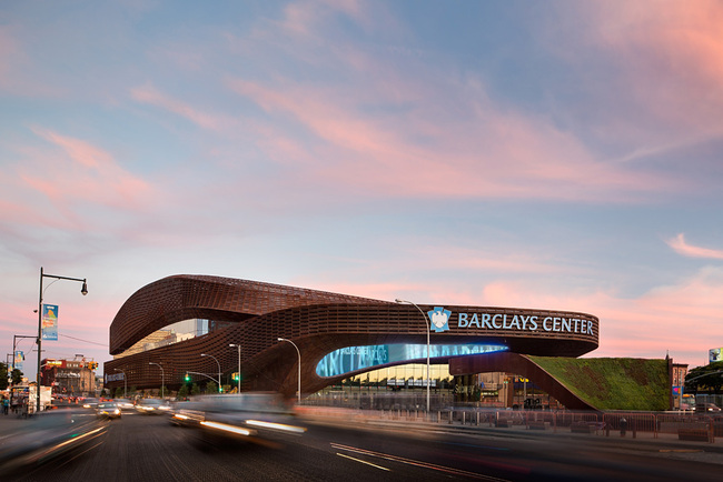 Architecture Honor Award Winner: Barclays Center in Brooklyn, NY by SHoP Architects and AECOM/Ellerbe Becket (Image Credit: Bruce Damonte)