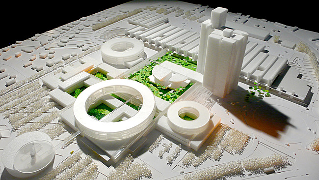 Model photo, Image: Henning Larsen Architects