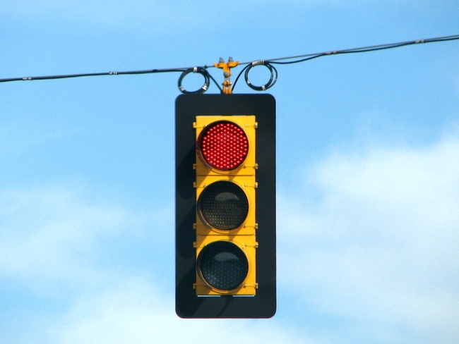 """""""While traffic control systems may be built to fail into a safe state, we have shown that they are not safe from attacks by a determined adversary,"""" a new report finds. Credit: WikiCommons"""