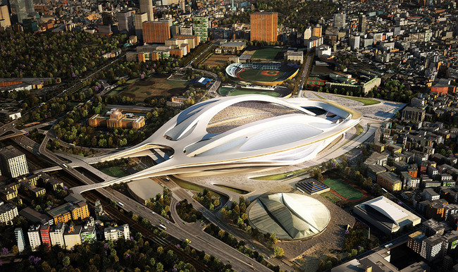 Zaha Hadid Architects (Image: Japan Sport Council)