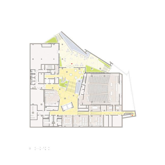 Behnisch Architekten Completes John And Frances Angelos