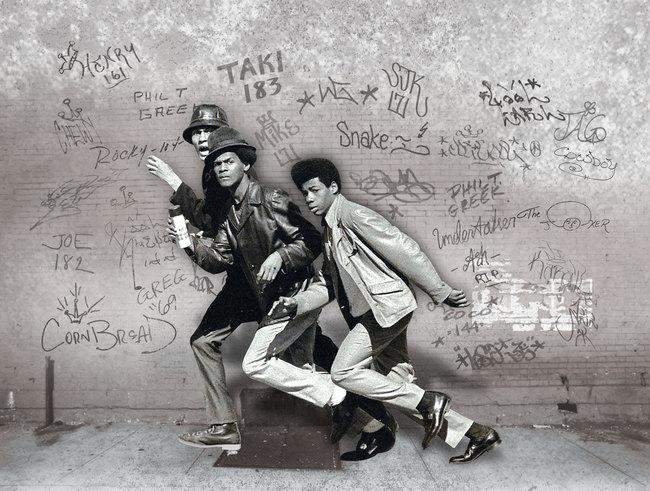 "Image via ""Wall Writers: Graffiti in its Innocence""."