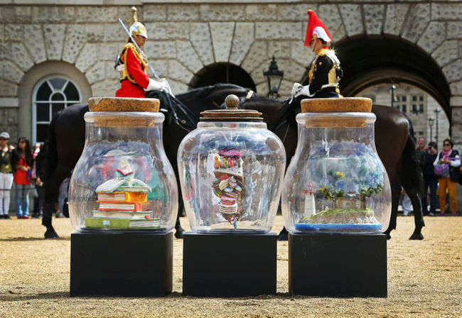 Dream Jars at Horseguards.