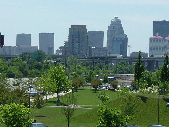 Second-tier cities like Louisville, Kentucky can offer creative opportunities that would be hard to realize in the major metros. (Photo: Censusdata/Wikipedia)